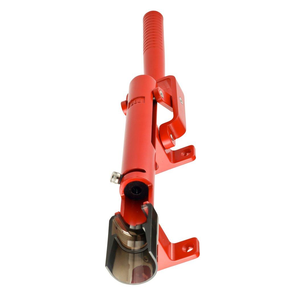 BOJ Professional Wall-mounted Corkscrew Wine Opener Model 110 (Red) by BOJ (Image #6)
