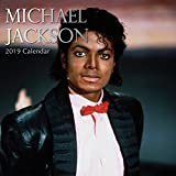 2019 Wall Calendar - Michael Jackson Calendar, 12 x 12 Inch Monthly View, 16-Month, Famous 80s 90s Celebrity Singer, Includes 180 Reminder Stickers
