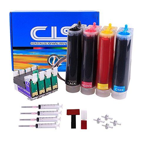 INKUTEN - Continuous Ink Supply System For T060 C68 C88 C88+ CX3800 CX3810 CX4200 CX4800 CX5800 CX5800F CX7800 Inkjet CISS ()