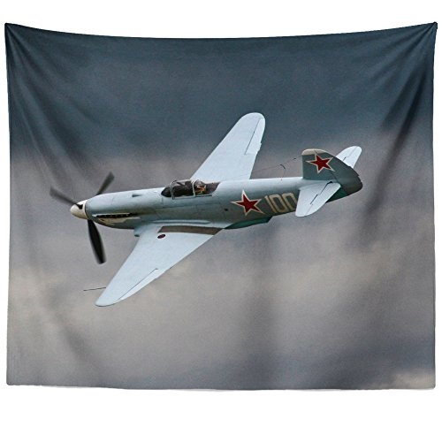Original Cockpit Bomber - Westlake Art Wall Hanging Tapestry - Pilot Plane - Photography Home Decor Living Room - 68x80in (a79z)