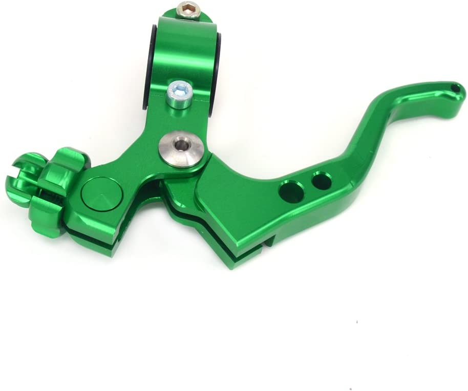 JFG RACING Billet MX Short Clutch Lever Perch For Kawasaki KX125 KX250 KX250F KX450F 2 fingers