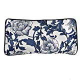 Kennedy Silky Eye Pillow Lavender + Flaxseed + Mung Bean + Buckwheat, Comfortable Silk Fabric - Use for Yoga, Natural Sleep Aid, Stress Relief, Anxiety Relief, Meditation