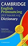 Cambridge English Pronouncing Dictionary, Daniel Jones, 0521415683