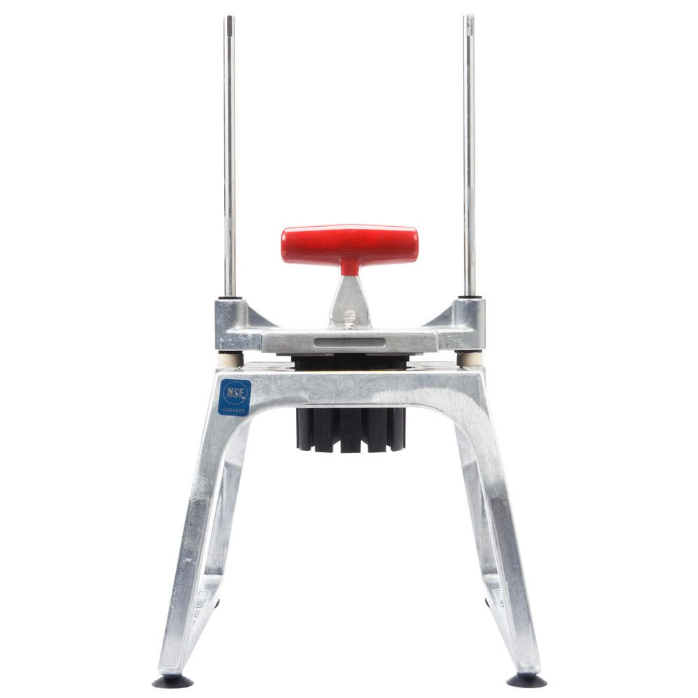 Tabletop king 15151 Redco InstaCut 5.0 6 Section Fruit and Vegetable Wedger - Tabletop Mount by TableTop King