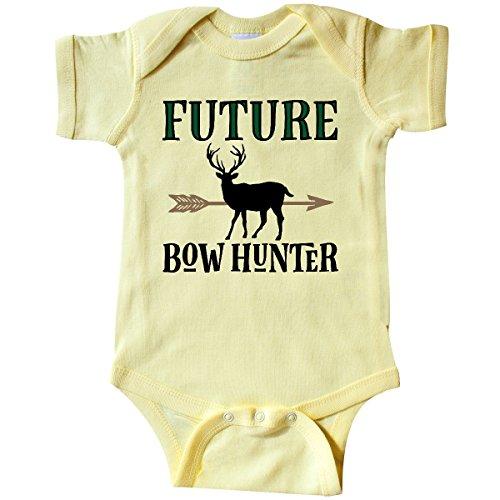 inktastic - Hunting Future Bow Hunter Infant Creeper Newborn Banana Yellow 2de66