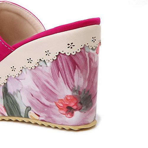 AdeeSu - Zapatos con tacón mujer Red