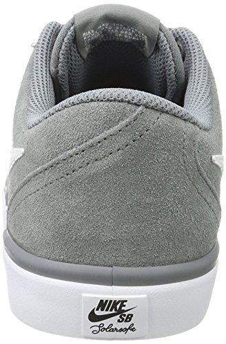 Check Basse 005 White Sb Grigio Da Grey cool Solar Ginnastica Scarpe Nike Uomo 5AY67x7
