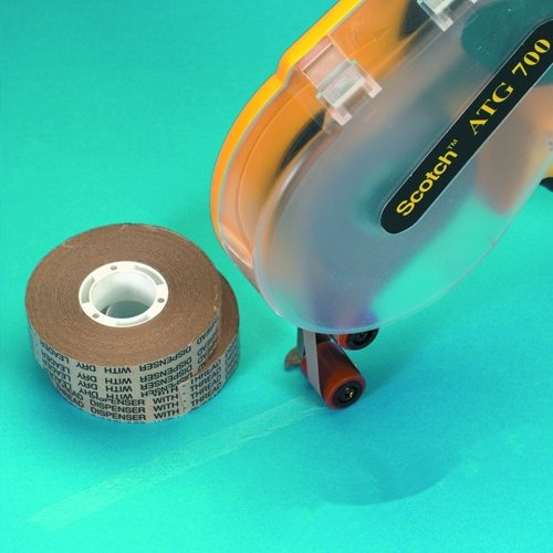 Scotch T9649286PK Repositionable Adhesive Transfer Tape, 3/4 x 18 yd (Pack of 6) by Scotch  B008K9WSBM