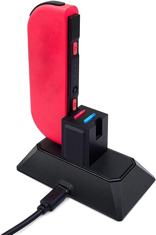 globalqi-homeland Base De La Estación De Carga del Soporte De Carga De Dos Asientos Gamepad 2 En 1 para Nintendo Switch Joy-con Y Soporte De Carga del Controlador Pro: Amazon.es: Hogar