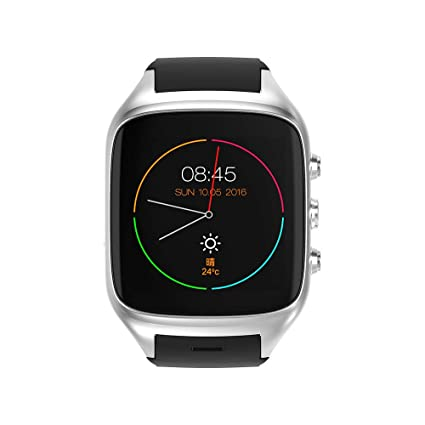 Amazon.com: TONGTONG 3G WiFi Android Smartwatch Phone ...