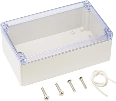 200*120*75mm Waterproof Cover Clear Plastic Electronics Project Enclosure Box
