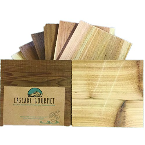 Gourmet Pacific Cedar Grill Planks (King Sized - 12 Individual 7
