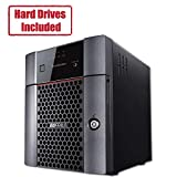 BUFFALO TeraStation 3410DN Desktop 12 TB NAS Hard Drives Included