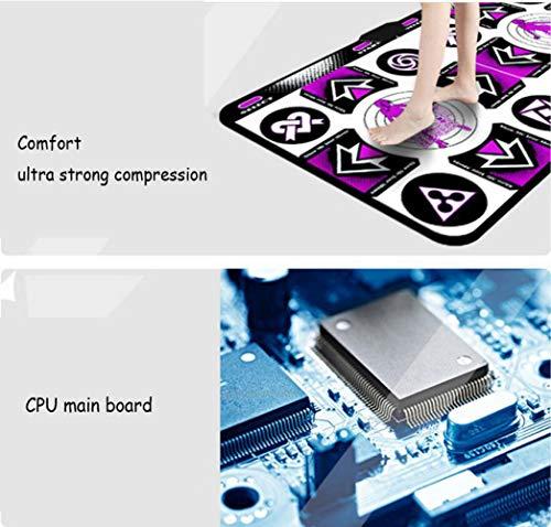 QXMEI Thickened Wireless TV Computer Dual-use Somatosensory Dance Mat Double Dance Machine by QXMEI (Image #3)