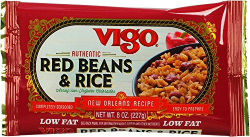 Vigo Red Beans and Rice, 8-Ounce Pouches (Pack of 12) (Best Red Beans And Rice Mix)
