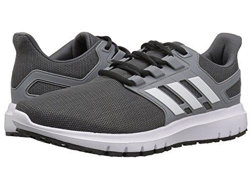 [adidas(アディダス)] メンズランニングシューズ?スニーカー?靴 Energy Cloud 2 Grey Five/White/Grey 8.5 (26.5cm) D - Medium