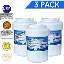 Icepure RWF0600A Compatible With GE MWF,MWFP,MWFA,MWFAP,MWFINT,GWF,GWF01,GWF06,GWFA,HWF,HWFA,FMG-1 Refrigerator Water Filter, 3PACK