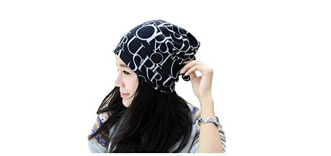 aliveGOT Unisex Baggy Hip-hop Soft Stretch Knit Slouchy Scarf Beanie Hat  Skull Cap (Black) at Amazon Women s Clothing store  ada11dec4b1a