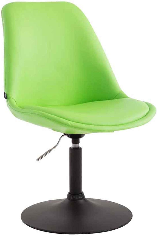 Chaise cuisine EMIL fauteuil tissu chromé pied trompette pivotant ou similicuir