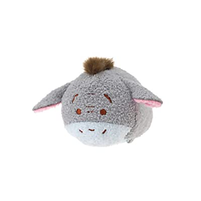 Disney Eeyore ''Tsum Tsum'' Plush - Mini - 3 1/2'': Toys & Games