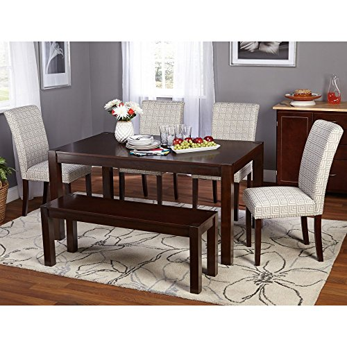 Target Marketing Systems Axis 6 Piece Dining Table Set