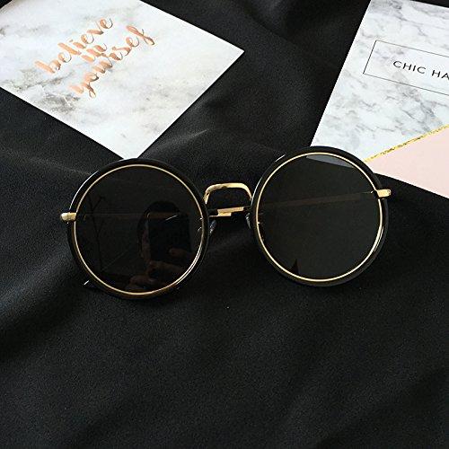 Ronda Xue Sol Big C1 De con Gafas De Frame Gafas c1 zhenghao De Sol Femenino Personaje YwHIqxHOr