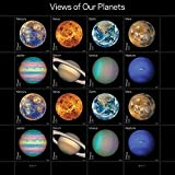 Views of Our Planets USPS Forever Postage Stamps Sheet of 16 Self-Adhesive (1 Sheet of 16 Stamps)