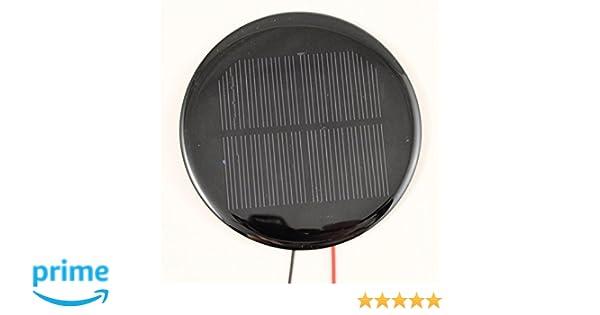 0.16W 4V Round Mini Solar Panel Module Solar System Epoxy Cell Charger DIY B004