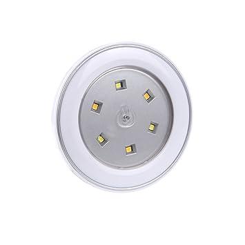 STARRYOL Luces LED toque la luz, Luz de noche alimentada por baterías para armarios,