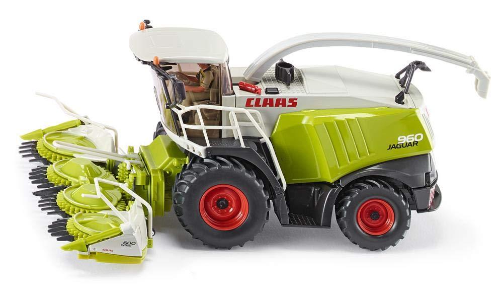 Modellfahrzeug hellgrün SIKU FARMER Claas Maishäcksler
