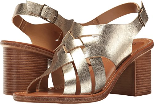 Bella Vita Women's Max-Italy Slingback Sandal,Gold Leather,US 11 WW