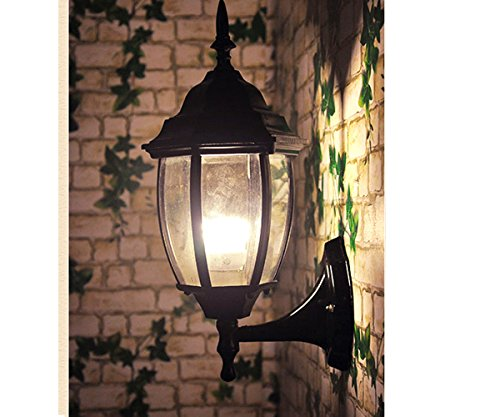 Garden Pendant lights, ZHMA waterproof outdoor sconce light balcony garden light fixture , Aluminum retro style used as balcony,villa ,garage, porch lights,Lantern Light (Lantern Style Outdoor Lighting)