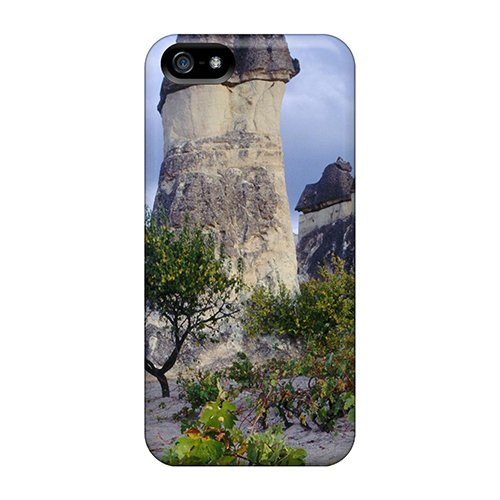 Huoner Fashion Protective Grapevines Chimneys Cappadocia Turkey Case Cover For Iphone (Fashion Chimney)