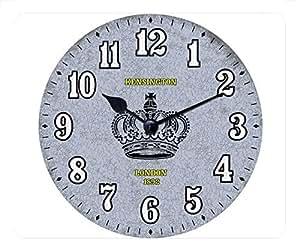 Time Design Rectangular Mouse Pad - Crown