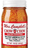 Mrs. Campbells Chow Chow All Natural Hot Home-Style Southern Relish, 16 oz
