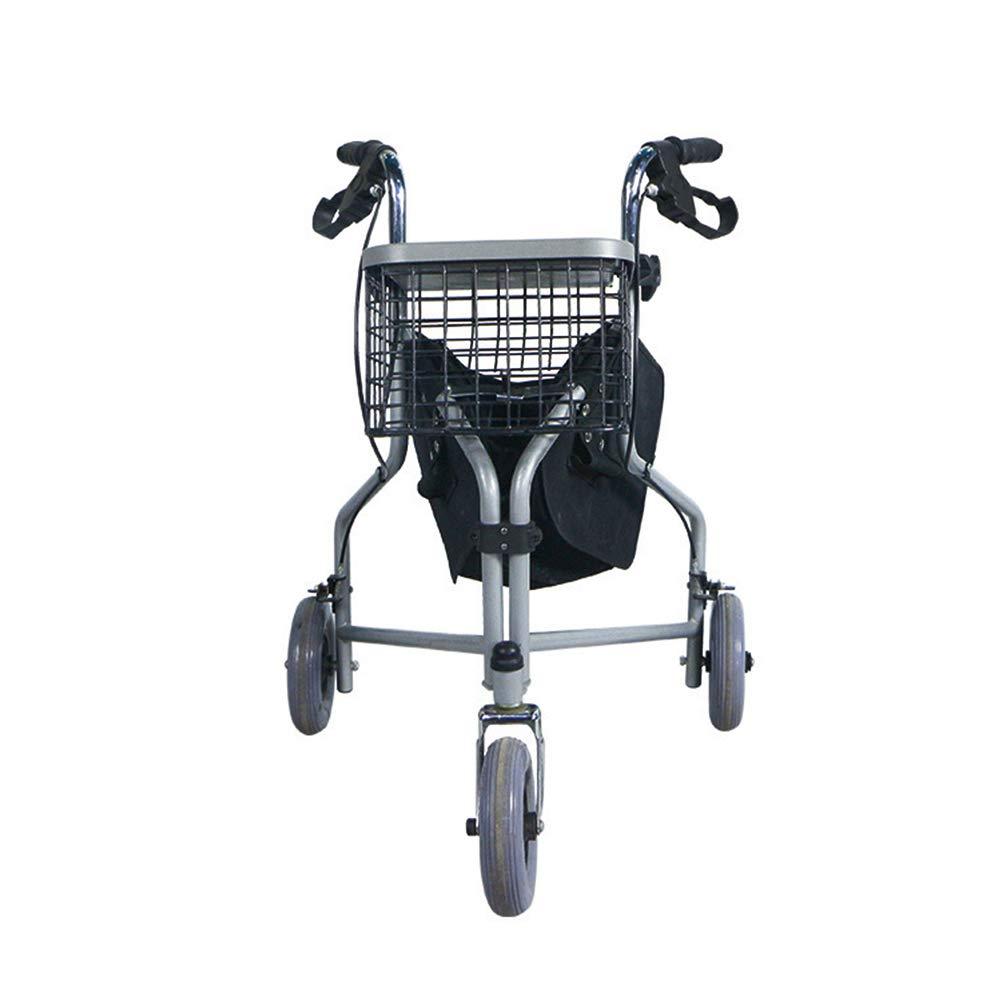 Andador de 3 ruedas con ruedas regulables en altura para ...
