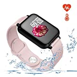 Smart Watch for Android and iOS Phones with Heart Rate & Blood...