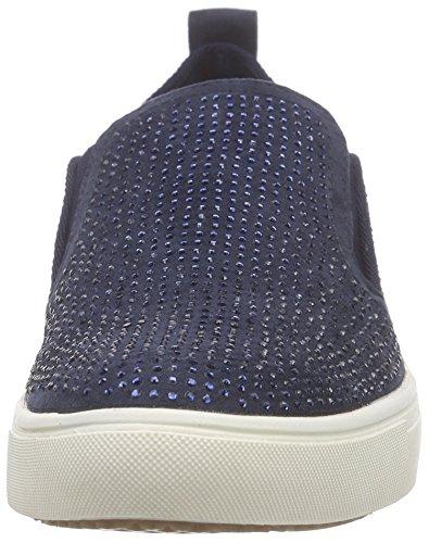 Tamaris Damen 24609 Slipper Blau (NAVY/NAVY GLAM 861)
