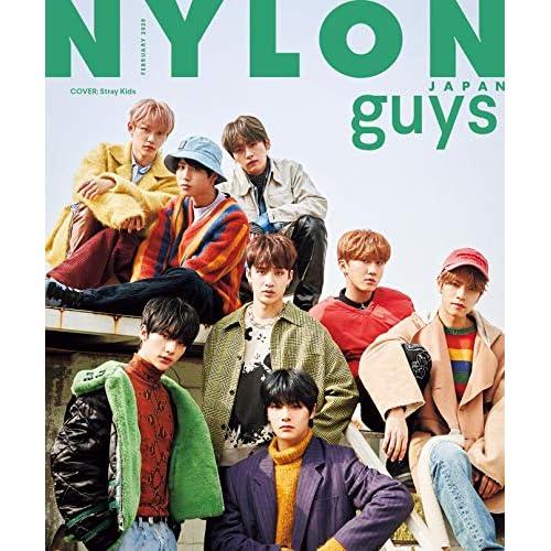 NYLON JAPAN guys 2020年2月号 表紙画像
