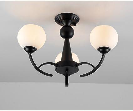ZHDC® Techo, al estilo americano salón luces de techo ...
