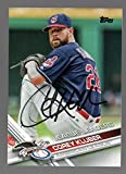 Corey Kluber autographed signed Topps auto card Cleveland Indians - - (Near Mint Condition)