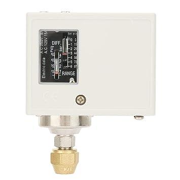 Interruptor de control de presión para aire compresor de agua SPC-106E 24-380V