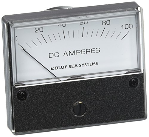 Blue Sea Systems DC Analog 0 to 100A Ammeter with Shunt