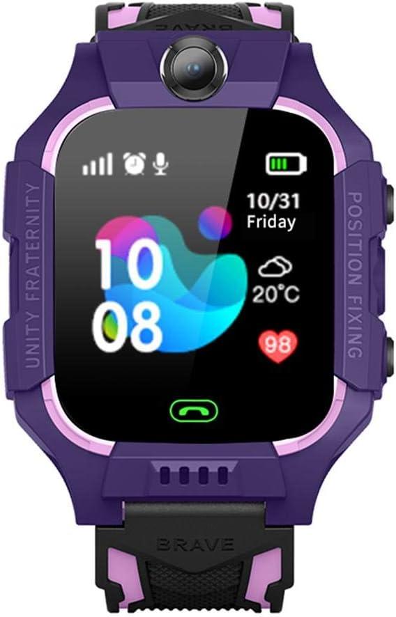 Smartwatches Niños Teléfono GPS Tracker Reloj Inteligente SOS Anti-Lost Baby Reloj Inteligente Niños Teléfono Niños 3-12 Años Niños Niñas Cumpleaños Cumpleaños Regalo Navidad