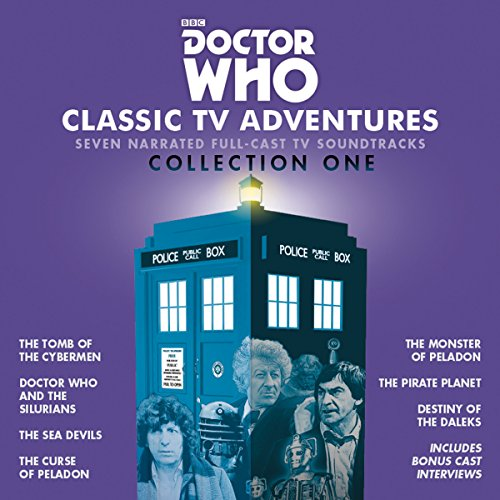 Kit Ltd Classic (Doctor Who: Classic TV Adventures Collection One: Seven full-cast BBC TV soundtracks)