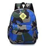 Estwell Boys Girls Backpack Primary Student School Bag Children Camouflage Shoulder Rucksack Travel Sports Daypack