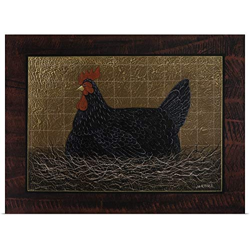 GREATBIGCANVAS Poster Print Entitled Chicken by Warren Kimble 16
