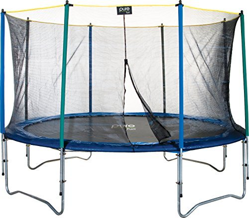 Pure Fun 12-Foot Trampoline with Enclosure Set [並行輸入品]   B06XFG1446