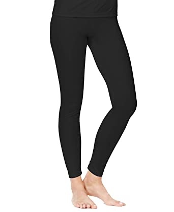 702a593a70693 Cuddl Duds Climatesmart Leggings (L) at Amazon Women's Clothing store: