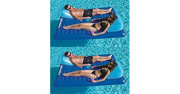 Amazon.com: 2) nuevo Swimline 16141sf piscina hinchable ...